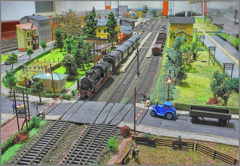 Naunhof Bahnübergang