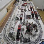 Spur Null Winterlandschaft Kinderspielanlage
